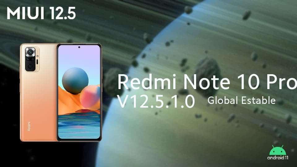 actualizacion redmi note 10 pro