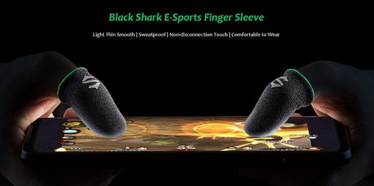 finger sleeve de black shark
