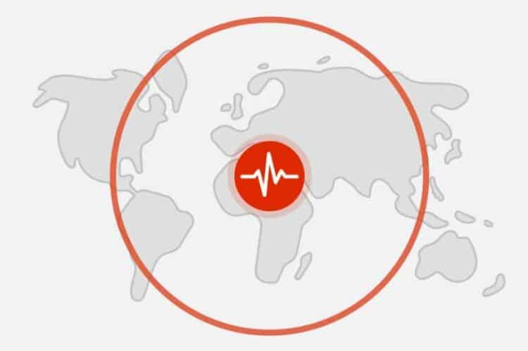 sistema de alerta de terremotos en android 12