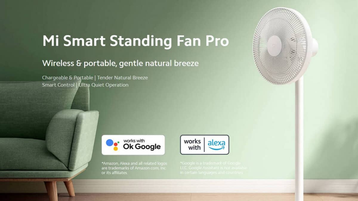 código de descuento xiaomi mi smart standing fan pro fan cupones ofertas
