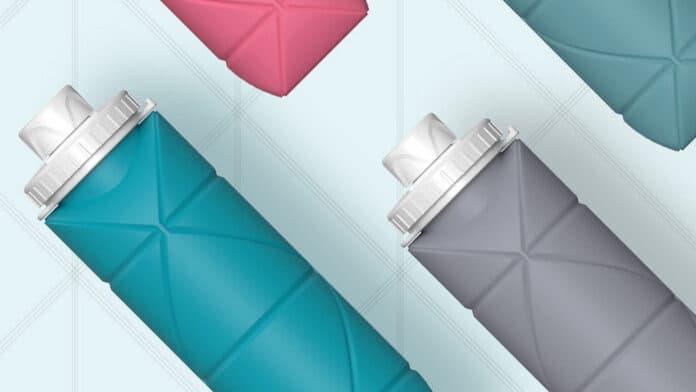 botella de ahorro de espacio plegable xiaomi youpin