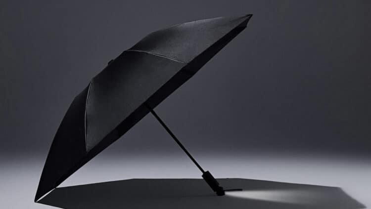 Xiaomi y Urevo añaden una linterna LED a su paraguas