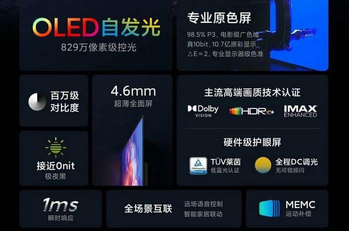 Xiaomi mi tv 6 eres