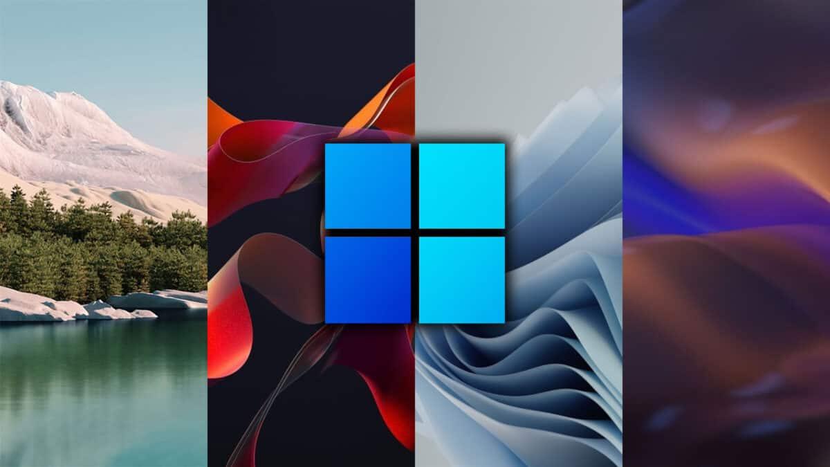 descarga de fondos de pantalla oficiales de microsoft windows 11
