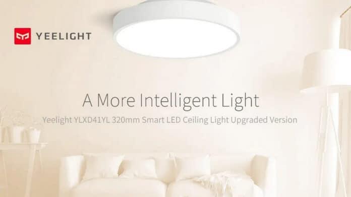 Yeelight YLXD41YL, la luz de techo inteligente de Xiaomi