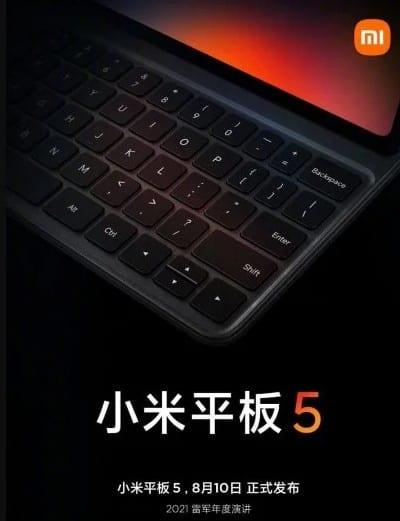 teclado ipad 5 xiaomi