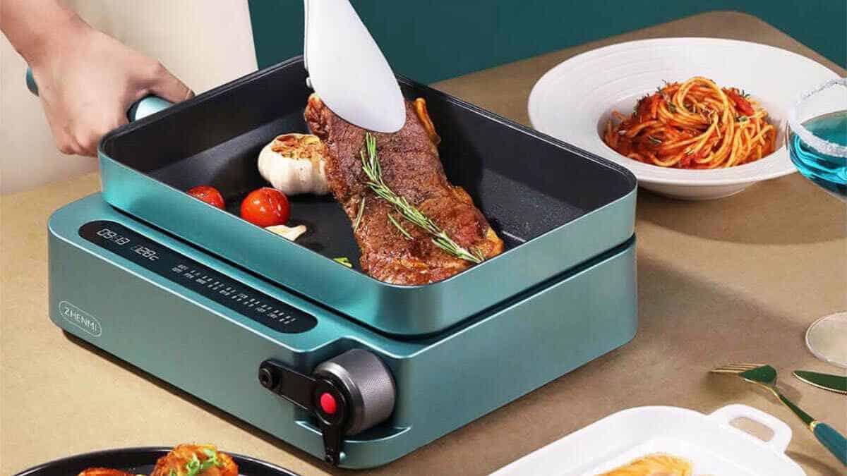 xiaomi youpin zhenmi máquina de cocina freidora infrarroja máquina de cocina precio 2