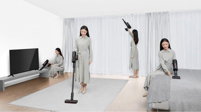 Nueva aspiradora de Mijia: elegante, inalámbrica y ultraligera