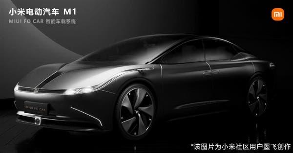 Nuevos renders del coche Xiaomi Electric Car M1