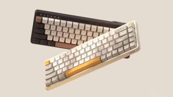 Nuevo teclado mecánico Xiaomi MIIIW con estilo otoñal