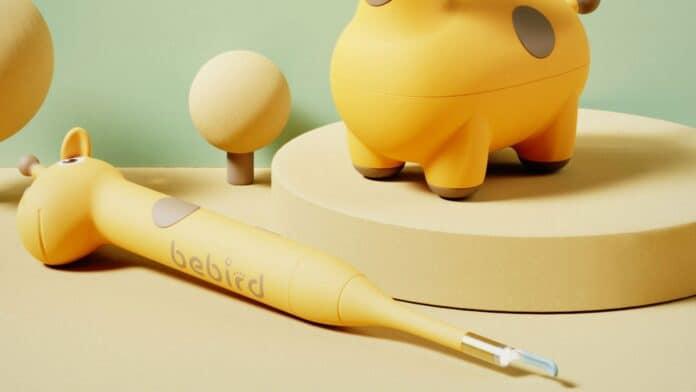 Xiaomi lanza un extractor de cera para niños con forma de jirafa